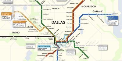 Dallas map - Maps Dallas (Texas - USA) on