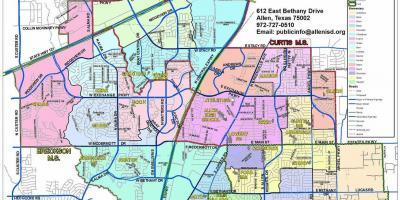 Dallas map - Maps Dallas (Texas - USA)