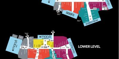 Stonebriar Mall Map Dallas map   Maps Dallas (Texas   USA) Stonebriar Mall Map
